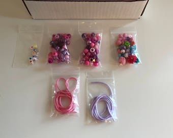 FREE SHIPPING DIY Child's Necklace Kit