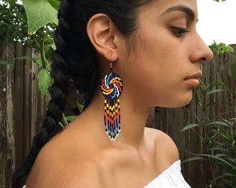Swirly Earrings