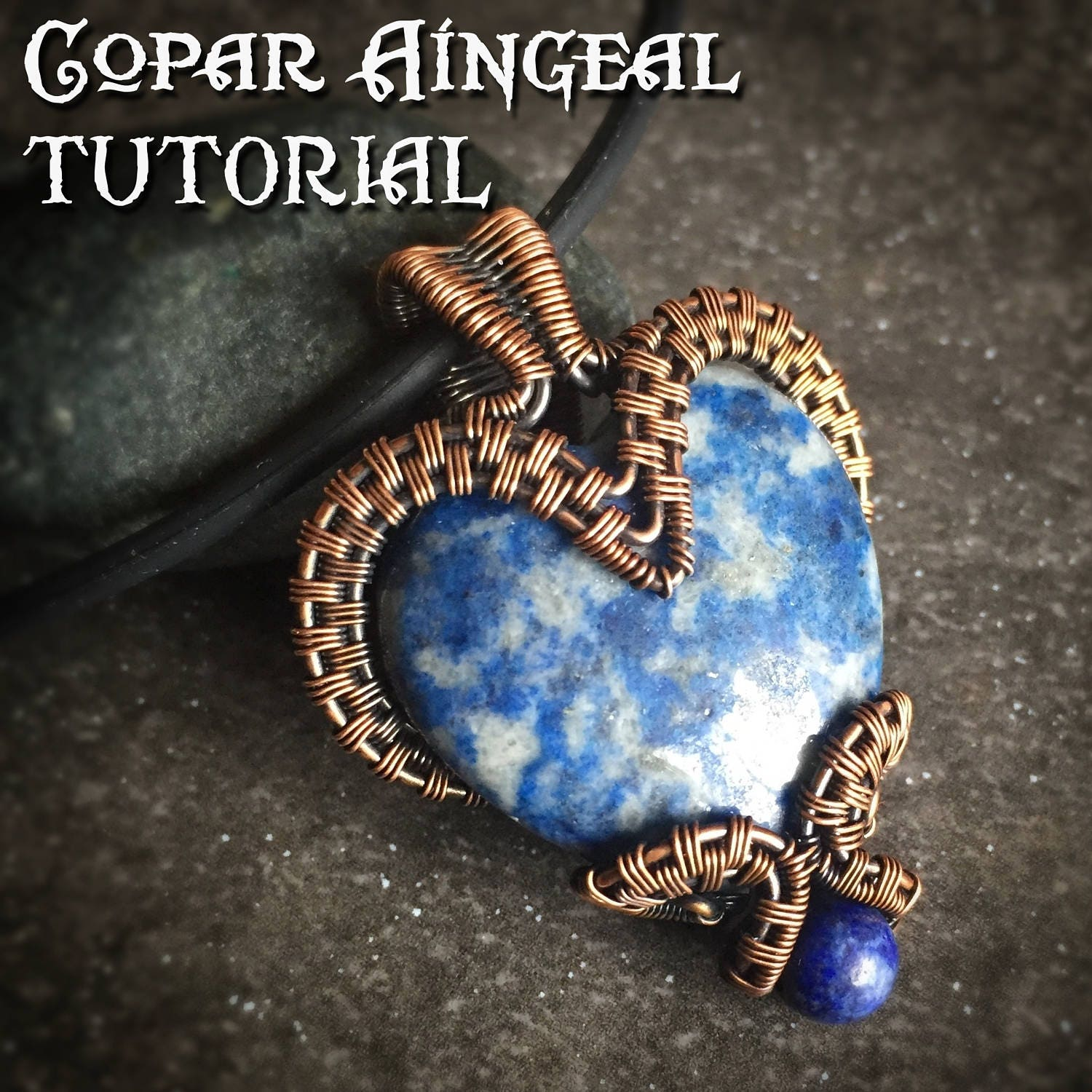 Tutorial bottled heart pendant wire wrapping jewelry pattern this is a digital file baditri Images