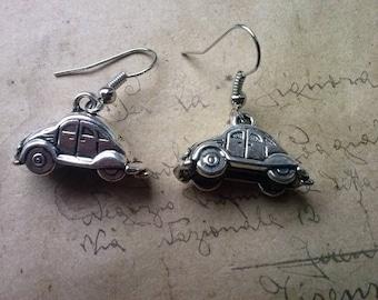 VW Beetle Earrings