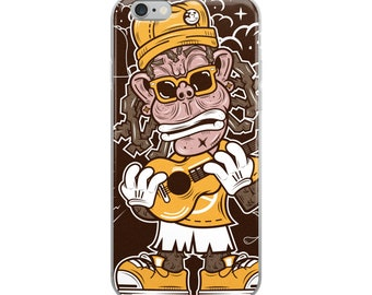 Funky Musician iPhone Case