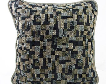Grey pillow covers, Grey throw pillows, Grey pillows, Decorative pillow cases gray and black decor, Couch pillows, Decorative throw pillows