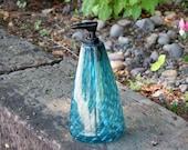 Aqua Blue Soap Dispenser,...