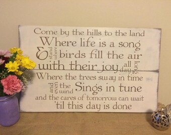 Song lyric wood sign tracy byrd keeper of the stars customized song lyric wood sign personalized wedding song sign stopboris Choice Image
