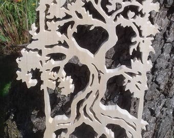 Wall Deco in a tree silhouette