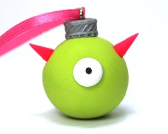 Lime Green Ornamonster