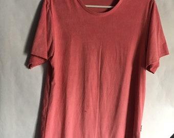 Long Silk Pink Shirt