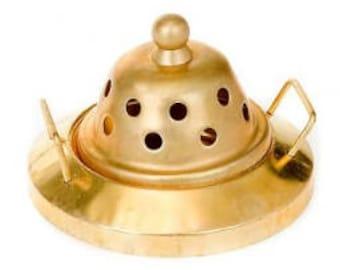 Incense burner for resins and powders - ALADINO