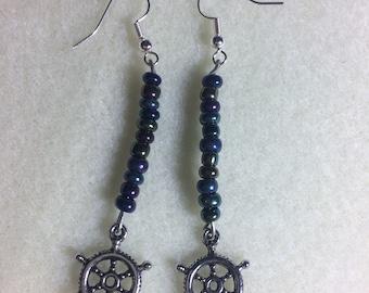 Nautical earrings