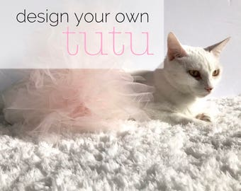 Design Your Own Tutu | Cat Tutu, Cat Apparel, Cat Clothing