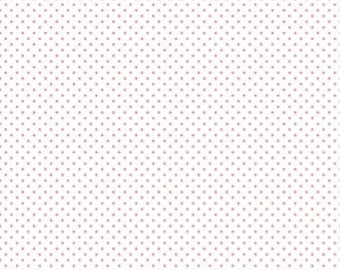 1 Yard- LIPSTICK Swiss Dot by Riley Blake Designs- 660