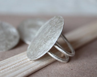 Silver Circle Ring