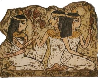 Katemi Plaque -Theba Maidens