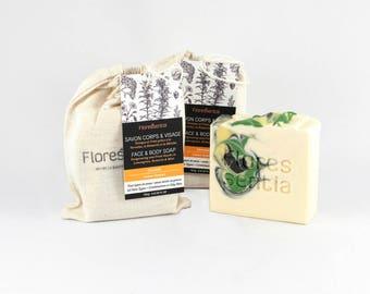 Lemongrass Soap, Rosemary and Mint, Soap Bar, Shea Butter Soap, Organic Soap, Aromatherapy Soap, Luxury Soap, Vegan, Natural Soap