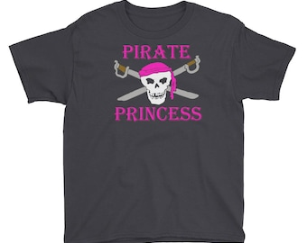 Pirate princess shirt Youth Short Sleeve T-Shirt