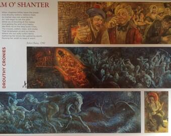 Tam O Shanter Mural Poster