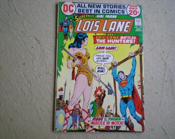 Superman's Girl Friend, Lois Lane 124 (1972), The Hunters, DC S2