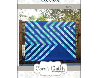 """Pattern """"Selkie Quilt"""" by Cora's Quilts CQ1412 Paper Pattern"""