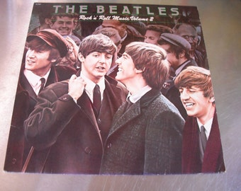 The Beatles Rock and Roll Music Volume 2 on Capitol 1980 Original Vintage Vinyl Compilation