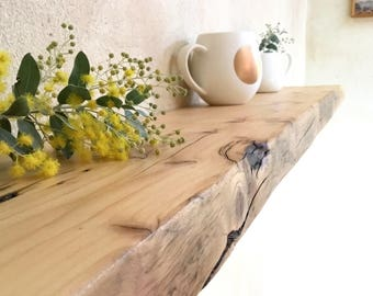 Floating Wood Shelves Recycled Timber Reclaimed Kitchen Floating shelf Rustic Modern Perth Baltic Pine
