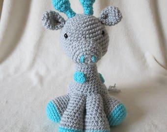 Crochet Stuffed Giraffe