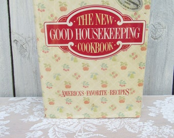 The New Good Housekeeping Cookbook, 1986, Vintage Cooking, Vintage Cookbook