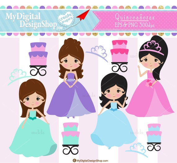 sale quincea u00f1eras clipart vector eps png image sweet get dressed chore clipart get dressed chore clipart