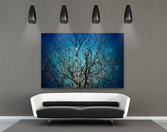 Tree Decor for Wall, Tree Art, Wall Decor, Forest Photography, Nature Art, Fine Art Photography, Large Wall Art Print, But I remember