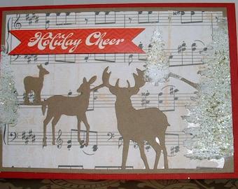 Reindeer 2015 Christmas Card