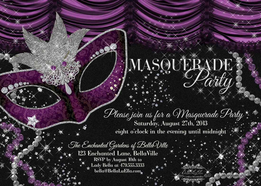 Masquerade Birthday Party Invitation Wording best new year quotes