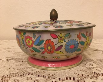 Boho Vintage container