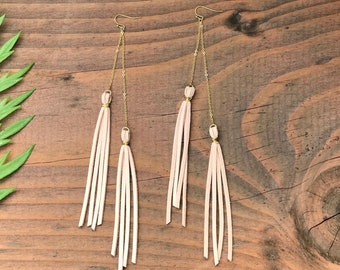 16k Gold Tassel Earrings