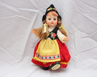 Vintage Dolls of All Nations, Switzerland