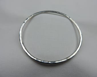 Simple Sterling Silver bangle