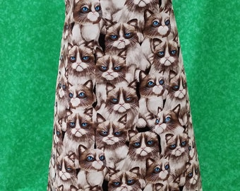 Grumpy Cat adult apron