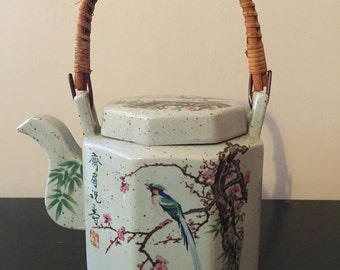 Vintage Porcelain, Beautifully Decorated, Teapot
