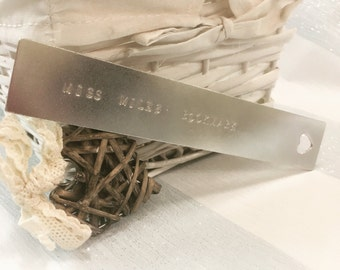 Bookmark | Book Lover Gift | Teacher Gift | Personalised Teacher Gift | Personalised Bookmark | Bookworm Gift