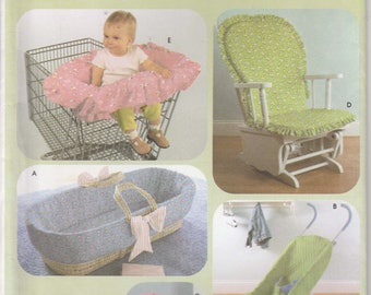 Cart Cover Pattern Stroller Cover, Chair Cover, Car Seat Cover Uncut Simplicity 4636