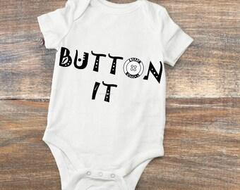 Little Button vest slogan designs
