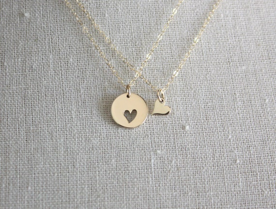 Mother daughter necklace set mother daughter jewelry gold like this item aloadofball Choice Image