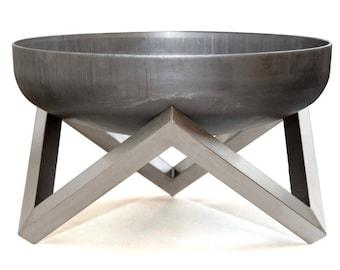 Steel Fire Pit YANARTAS (45cm diameter)