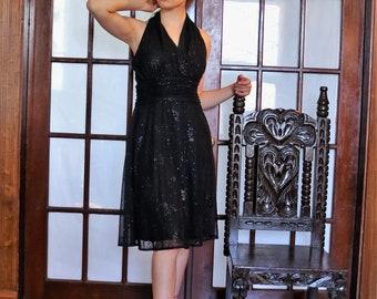 Gorgeous Semi Formal  Black Dress