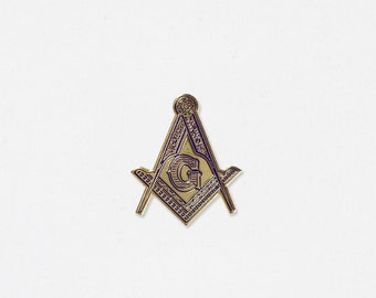 Freemason Soft Enamel Lapel Pin