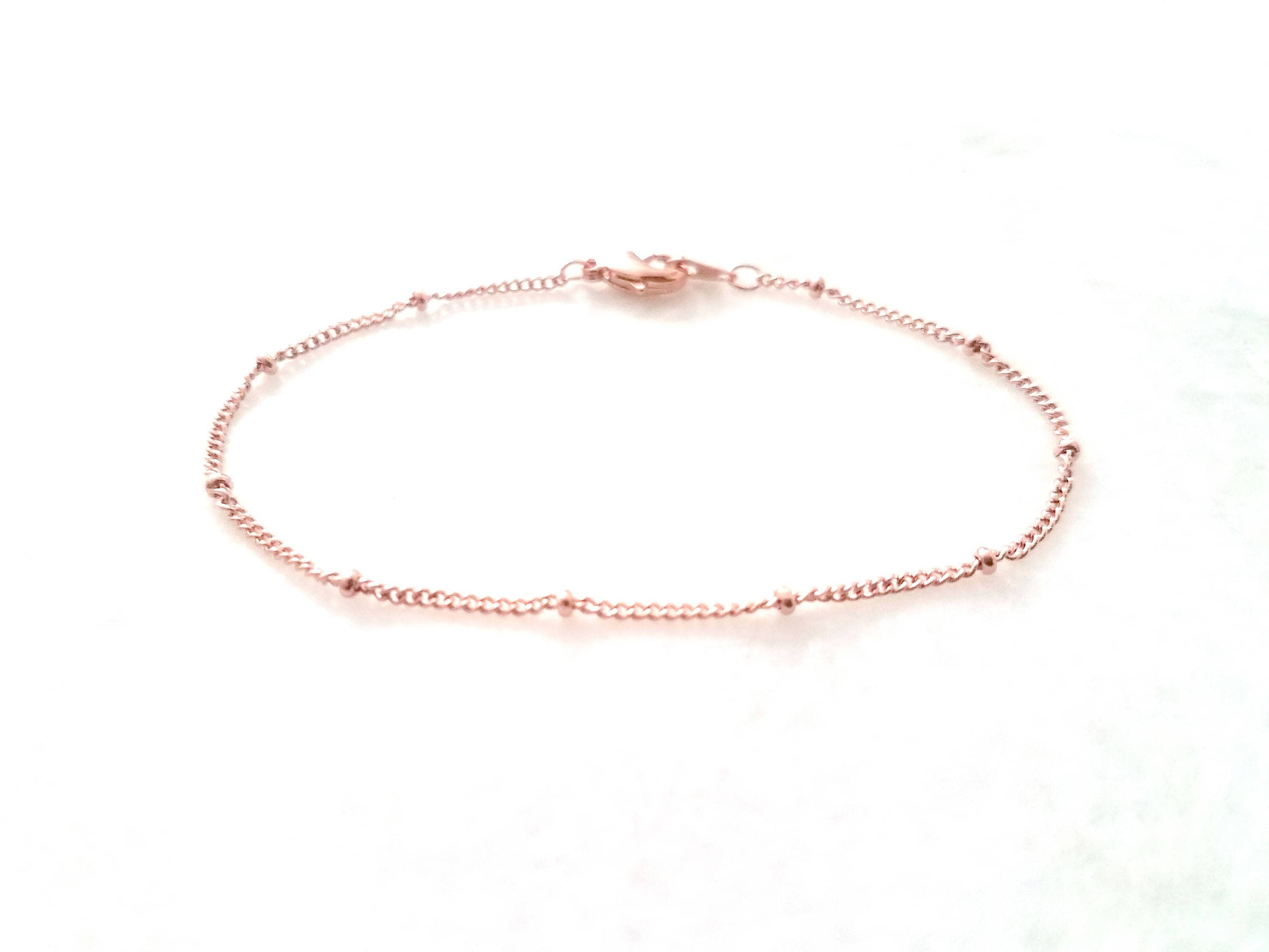 jewellery steel simple crystal anklet bracelet stainless sterling silver bracelets ankle anklets allure