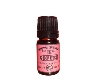 Coffee CO2 Select Essential Oil, Coffea arabica, India - 5 ml