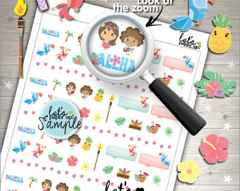 60%OFF - Summer Stickers, Printable Planner Stickers, Season Stickers, Planner Accessories, Vacation Stickers, Break, Hawaii Stickers, Aloha