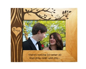 Personalized Tree Carving Frame