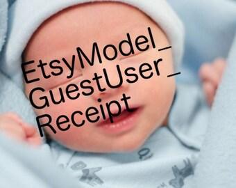 dis baby has code face
