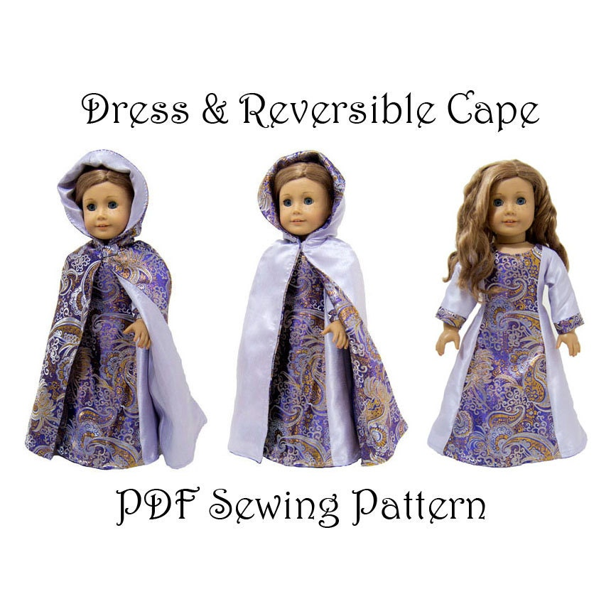 Girls Cape Sewing Pattern Image collections - origami instructions ...
