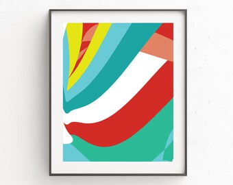 Colorful Wall Art, Abstract Wall Art, Abstract Art Print, Abstract Art, Modern Wall Art, Abstract Print, Colorful Art, Digital Download Art